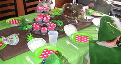 Apple Falls: Woodland Birthday Party: The Activities