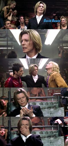 David Bowie in Zoolander
