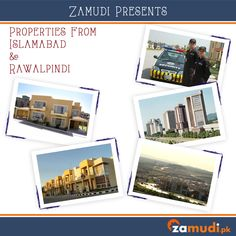 At Zamudi.pk we have all the best properties from both Rawalpindi and Islamabad.