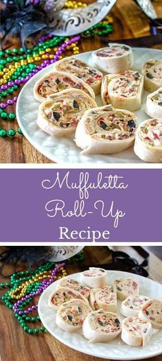 Muffuletta Cream Cheese Roll-ups Recipe- Perfect snack for Fat Tuesday! Muffuletta Cream Cheese Roll-ups Recipe- Perfect snack for Fat Tuesday! Cheese Appetizers, Yummy Appetizers, Appetizers For Party, Appetizer Recipes, Italian Appetizers, Catering Recipes, Catering Food, Catering Ideas, Easter Recipes