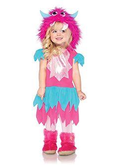 Leg Avenue Childrens Sweetheart Monster Costume