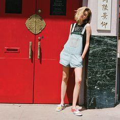 $69.50 Shortall Overall | Shop Womens Shorts at Vans