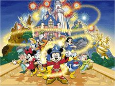 Mickey & Friends 2 14 Count Cross Stitch Chart by BluebellThreads