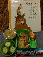 Orange Pear Apple Bear lunch