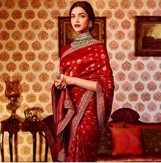 Your best stop for all updates related to the talented and stunning bollywood actress Deepika Padukone Sabyasachi Sarees, Indian Sarees, Anarkali, Lehenga Choli, Lehriya Saree, Banarsi Saree, Churidar, Saris, Beautiful Saree