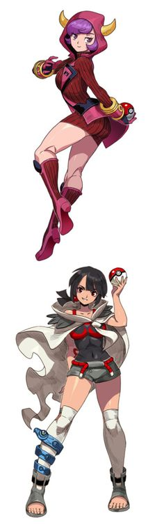 Pokemon girls... Team Magma