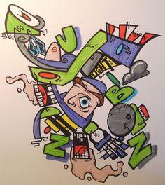 Abstract Buzz Lightyear