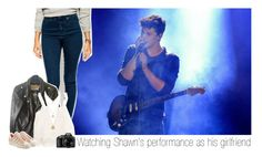 """Watching Shawn's performance as his girlfriend"" by one-direction-makes-me-strong ❤ liked on Polyvore featuring ASOS, Schott NYC, Swell, adidas Originals, Nikon and shawnmendes"