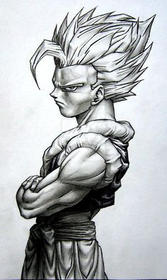 broly, enjoy the visual orgasm one of my favorite drawings i have made here are…