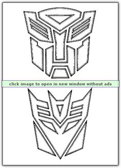 logo of transformers-never know when you might need this. logo of transformers-never know when you Transformers Birthday Parties, 4th Birthday Parties, Birthday Fun, Cake Birthday, Transformer Party, Rescue Bots Birthday, Transformers Coloring Pages, Drawings, Birthday Invitations