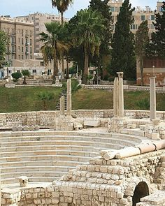 Alexandria, Egypt. I have dream scenes in my upcoming novel, Psychic, involving granite amphitheaters.... F. P. Dorchak