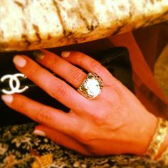 Thanks @pbswanky for sharing your Nirvana Ring reflecting light! #InstaSparkle
