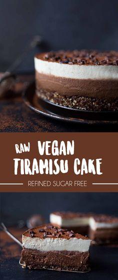 Raw Vegan Tiramisu Cake