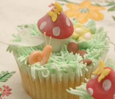 Toadstool Fairy Cakes | Flickr - Photo Sharing!