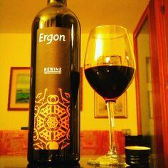 Marche Igt Rosso '15 Ergon - Rèwine Natural Viniculture #cantina Borgo Paglianetto #sangiovese #merlot #lacrimamorrodalba #matelica #marche...