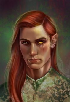 some of you asked me to paint him, so here he is our foxboy Lucien (from A court of thorns and roses series)