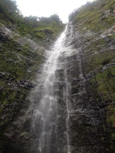 600 ft waterfall at the end of the 2 mile hike. Worth the trip!