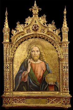 The Athenaeum - The Saviour Blessing (Carlo Crivelli - )
