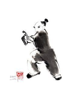 Tai Chi Movement Paintings - Press