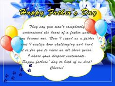 Tech tricks guide internet windows android blogging how to today we are here to provide you the best fathers day greeting card messages to wish your dad grandfather on this marvelous day m4hsunfo