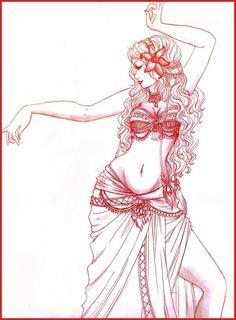 - Tribal Dancer - by ooneithoo.deviantart.com on @deviantART