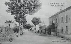 Les Laumes. La poste, route de Pouillenay.