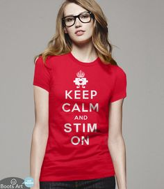 Funny Autism Shirt with autism quote and puzzle piece for Awareness Month. T-Shirt Pictured: Red Women's Tee.