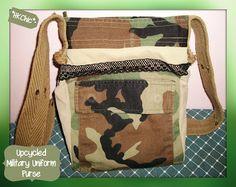 HongKongChic: Upcycled Military Uniform Purse {Part 2}