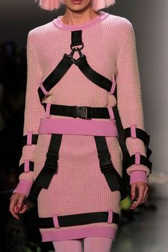 Jeremy Scott at New York Fashion Week Fall 2018 - Details Runway Photos