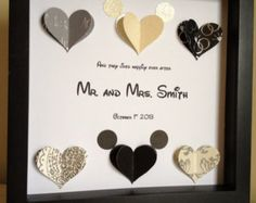 Disney Inspired Wedding 3d Paper Art Customize for by PaperLine