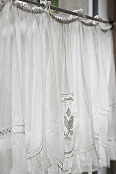 Behind the curtain..