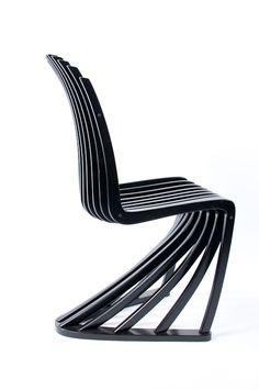 Simpe Minimalist Stripe Chair