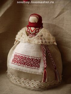 Russian traditional cloth doll