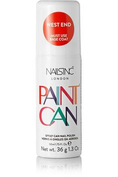 Nails inc - Spray Can Nail Polish - West End, 50ml - Tomato red - one size