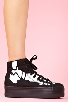 Homg Platform Sneaker in Skeleton