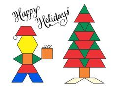 Printable designs for Pattern blocks. Vehicles, Animals, Alphabet Designs, Holiday Designs, and More!-This site is full of so many great mat designs, and free printable blocks! Fantastic!