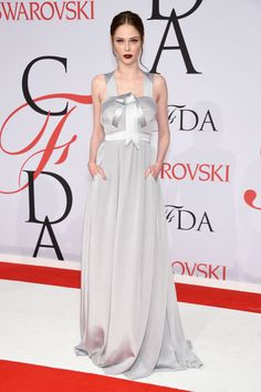 Coco Rocha in custom Banana Republic at the 2015 CFDA Fashion Awards. See all the looks from the night.