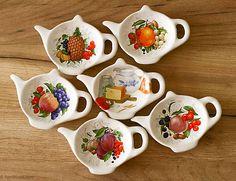 handloved / Odkladací tanierik na čajové vrecko - veľký Sugar Bowl, Bowl Set