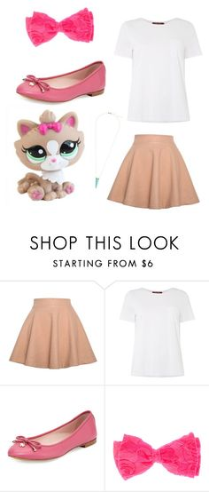 """""""LPS Himalayin Cat look"""" by innisbrook ❤ liked on Polyvore featuring Relaxfeel, MaxMara, Kate Spade and Alexis Bittar"""