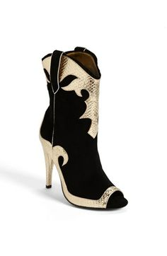 Blonde Ambition 'Randy' Bootie available at #Nordstrom