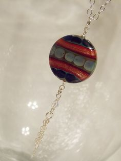 Tribal Cherry Necklace -View more at http://www.etsy.com/shop/KreationsbyKarenNB