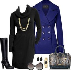 """""""Winter Outfit #1"""" by maria-garza on Polyvore"""