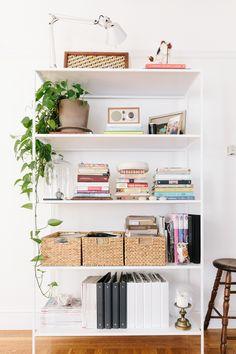 a shelf to grow on