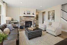 The Vanderburgh Family Room, Drees Homes, Cincinnati and Northern Kentucky