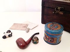 Steampunk Gift Box  Miscellaneous Trinkets by AmericanProspecting, $14.00