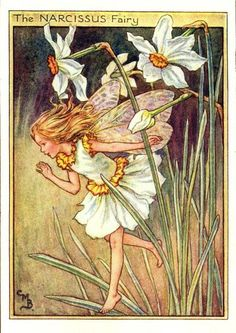 Cicely Mary Barker.  Magically beautiful.