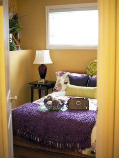 Eggplant Cream Bedrooms Bedroom Colors Color Schemes Decor Ideas