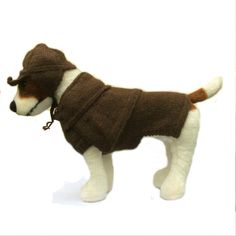 Pure Alpaca Sherlock Holmes style dog coat and deerstalker, Pure Alpaca Dog Clothes Handmade Dog Clothing, dog fashion, dog fancy dress UK by JackBentleyKnitwear on Etsy https://www.etsy.com/uk/listing/206143058/pure-alpaca-sherlock-holmes-style-dog