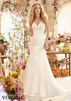 Voyage by Madeline Gardner 6802 Wedding Dress - The Knot