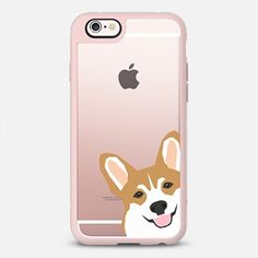 Corgi peek cute gift for corgi welsh corgi owners love iphone6 transparent cell phone cases with their dog gifts